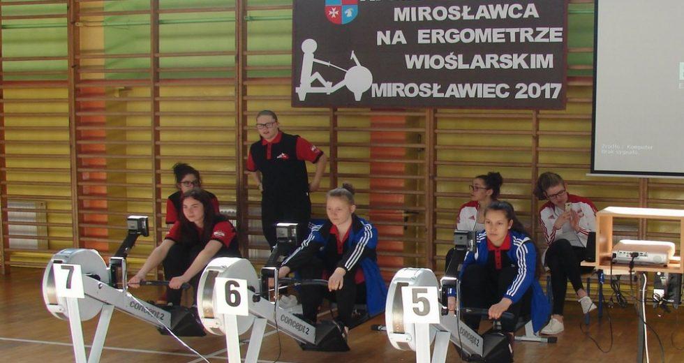 XI Mistrzostwa Mirosławca na Ergometrze Wioślarskim