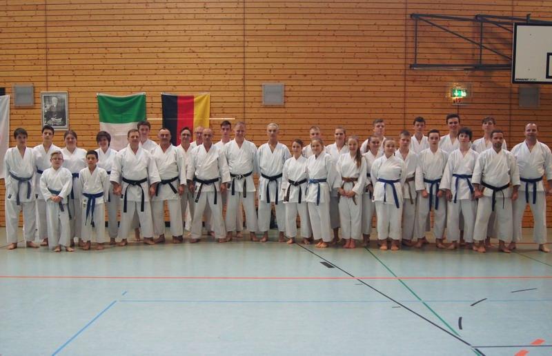 Karatecy na Międzynarodowym Szkoleniu w Prenzlau