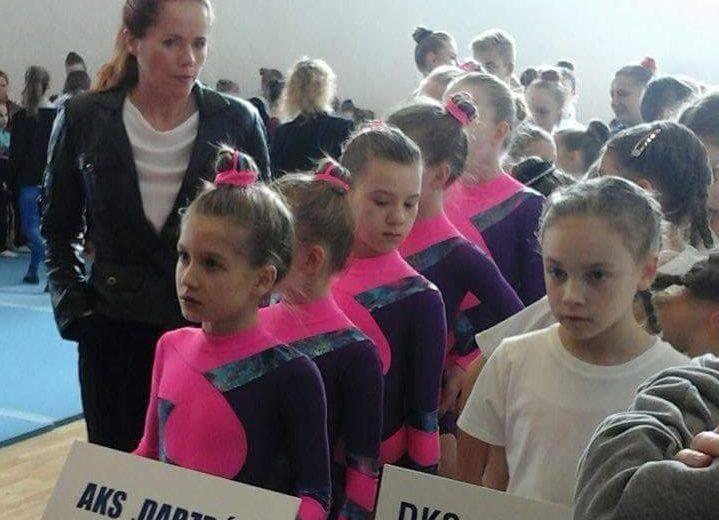 Akrobatki na zawodach w Rzeszowie