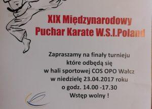 Międzynarodowy Turniej Karate W.S.I. Poland
