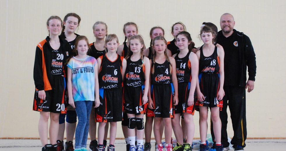 Pewne zwycięstwo najmłodszych koszykarek z Turowa