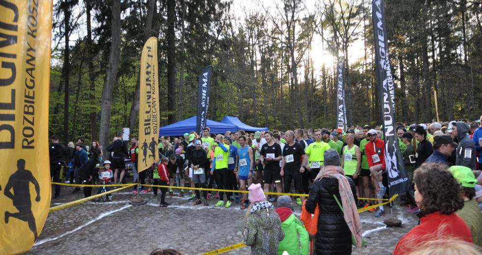 """Mnóstwo biegaczy wystartowało w koszalińskiej """"Leśnej Piątce"""""""