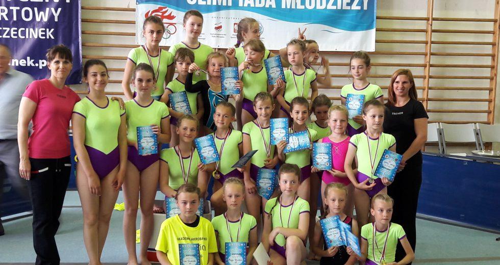 Wojewódzka Olimpiada Młodzieży w Akrobatyce Dziewcząt