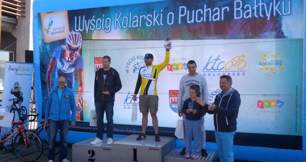 """W Kołobrzegu cykliści rywalizowali """"O puchar Bałtyku"""""""