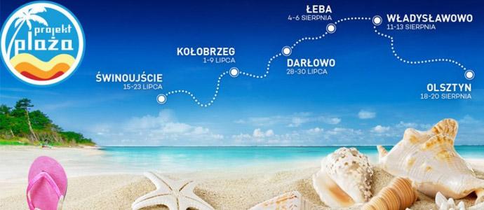 Projekt plaża w Kołobrzegu