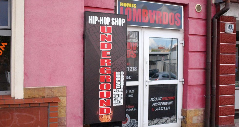 Underground HIP HOP SHOP