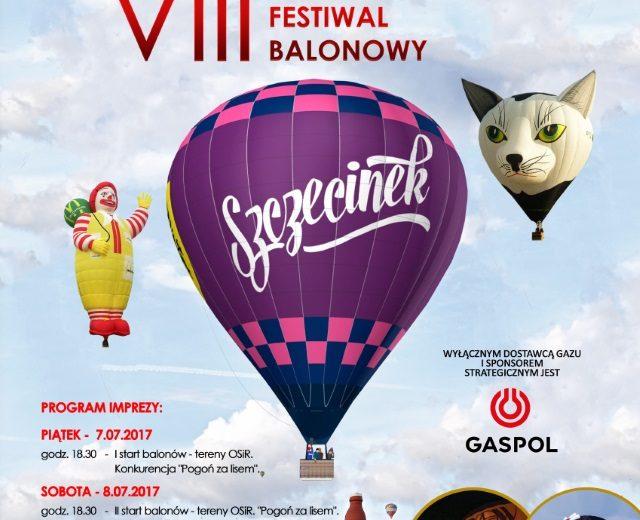 Festiwal balonowy już dziś w Szczecinku!