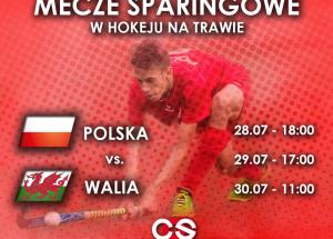 Sparingowe mecze Polska – Walia w hokeju na trawie w Wałczu