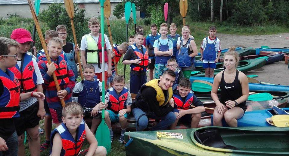 Gryf Szczecinek na obozie sportowym w Wałczu