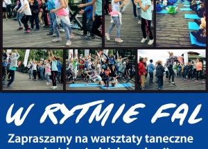 """""""W rytmie fal"""" – warsztaty taneczne na pomoście Centrum w Szczecinku"""