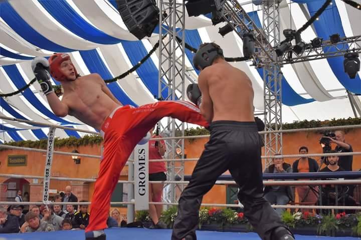 Kickboxing full contact – zwycięstwo zawodnika KSW Szczecinek