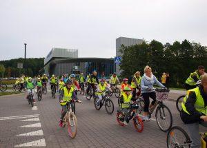 """Koszaliński rajd rowerowy """"Mama na rowerze"""""""