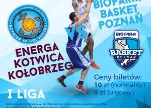 Mecz I Ligi Koszykówki Mężczyzn 23.09 – Kołobrzeg
