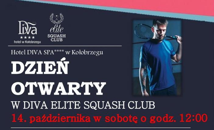 Zapraszamy na Wielkie Otwarcie – Diva Elite Squash Club w Kołobrzegu