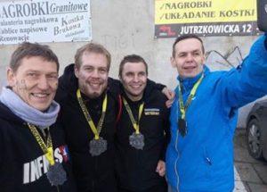 Husaria Race Team wystartowała w zawodach Runmageddon w Pabianicach