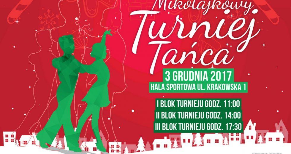 Mikołajkowy Turniej Tańca Towarzyskiego. Zaproszenie