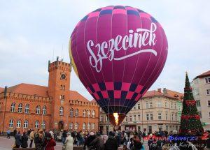Zaprezentowano balon reklamujący Szczecinek