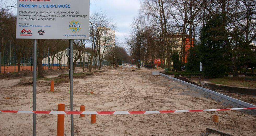 Nie zwalniają tempa inwestycje turystyczne w Kołobrzegu