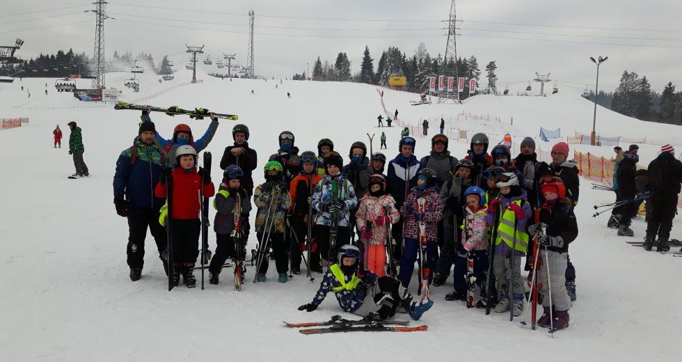 UKS Kuma Wałcz na zimowym obozie w Murzasichle