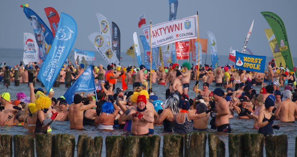 Gorąca zima w Mielnie, czyli XV Międzynarodowy Festiwal Morsowania