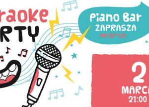 Zaproszenie na piątkowe Karaoke Party w Piano Barze