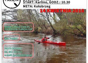 """Maraton Kajakowy """"PARSĘTA"""" – 14.04.2018"""