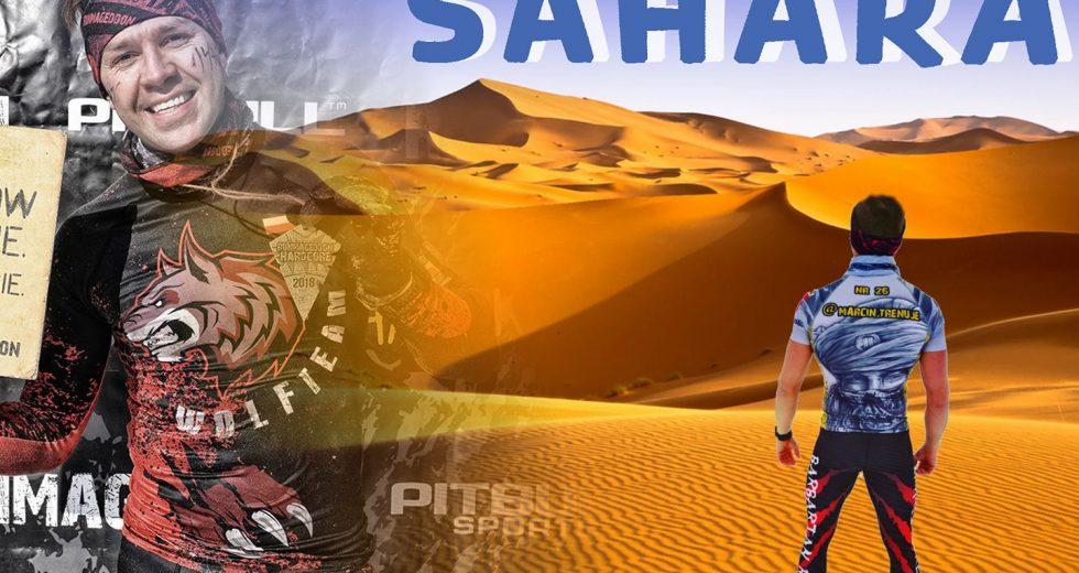 Marcin Ćwirzeń z Wolf Team Trzcianka startuje w Runmageddon Sahara