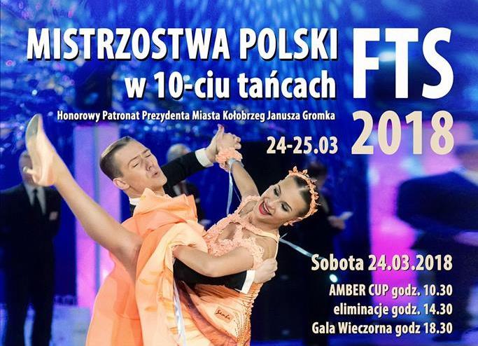 Już w ten weekend w Kołobrzegu odbędą się Mistrzostwa Polski FTS w 10-ciu Tańcach