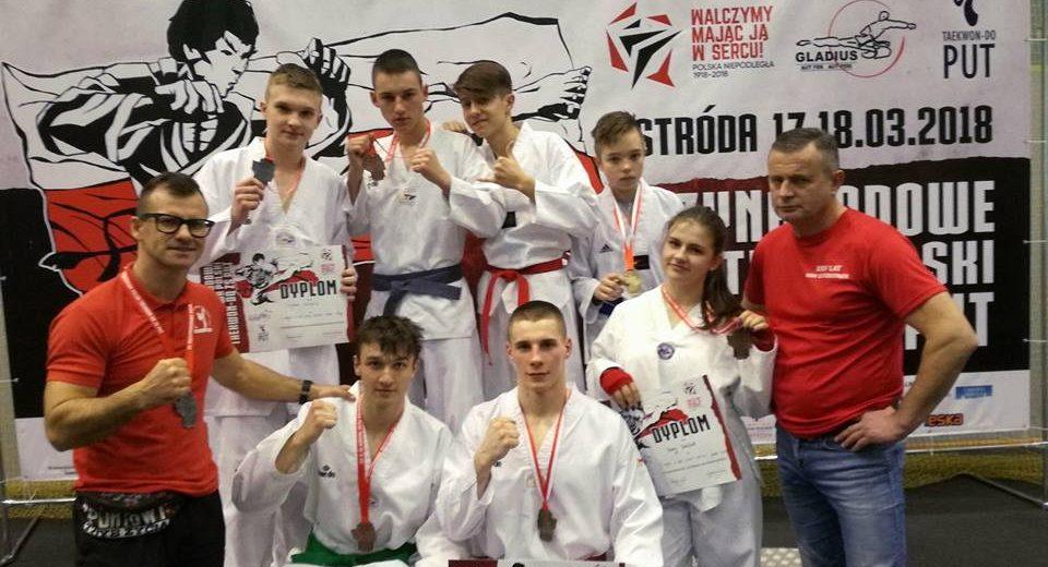 Medale zawodników KSW Szczecinek na Międzynarodowych Mistrzostwach Polski Taekwondo