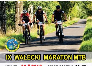 IX Wałecki Maraton MTB z patronatem medialnym naszej strony odbędzie się 19.05