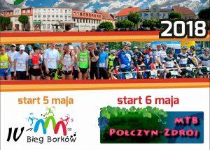 Zaproszenie do Połczyna Zdroju na ćwierćmaraton – IV Bieg Borków