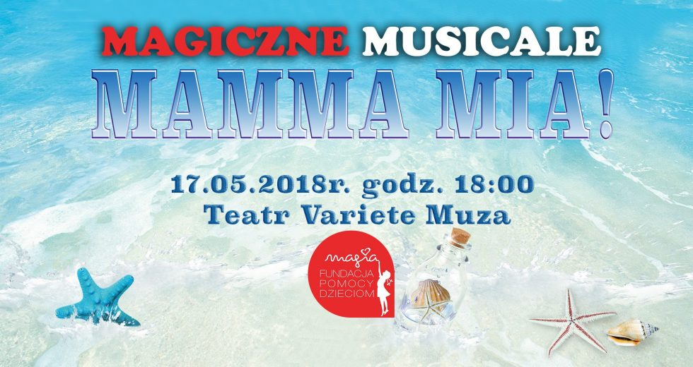 """Spektakl """"Mama Mia"""" w koszalińskim Teatrze Variete Muza 17 maja"""