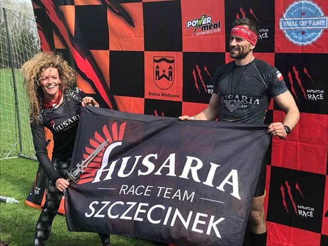 Zawodnicy szczecineckiego oddziału Husarii pokonali prestiżowy Barbarian Race