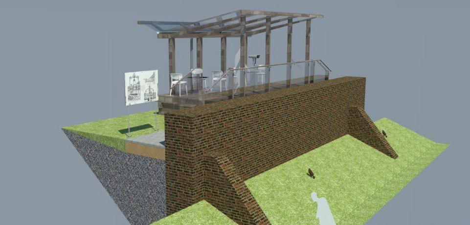 Barlinek. Odtworzenie murów obronnych oraz budowa wiaty widokowej. Zapraszamy już w październiku