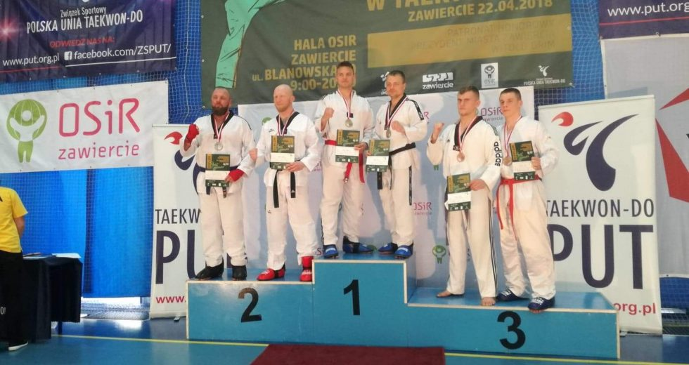Brązowy medal Mistrzostw Polski Taekwondo dla Bartłomieja Mienciuka i Krystiana Pajewskiego