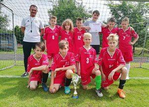 Uczniowie z SP7 zwyciężają w finale regionalnym Igrzysk Dzieci w mini piłce nożnej