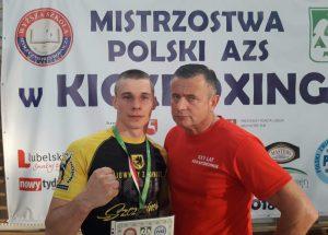 Bartłomiej Mienciuk najlepszym zawodnikiem Mistrzostw Polski w Kick boxingu