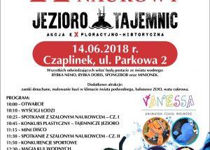 Zaproszenie do Czaplinka na II Piknik Naukowy Jezioro Tajemnic
