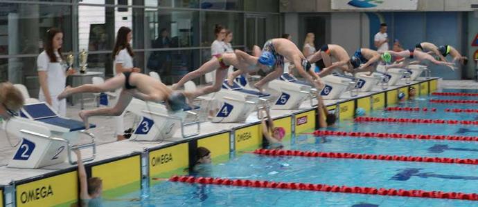 Sukcesy kołobrzeskich sportowców w Zachodniopomorskiej Lidze Pływackiej