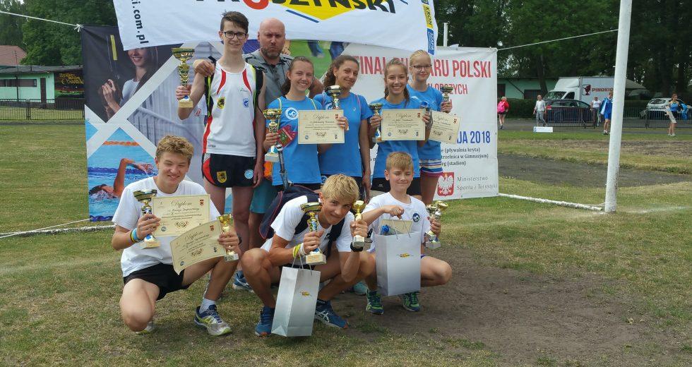 Sukcesy szczecineckich sportowców na Mistrzostwach Województwa Zachodniopomorskiego Juniorów Młodszych w dwuboju oraz trójboju