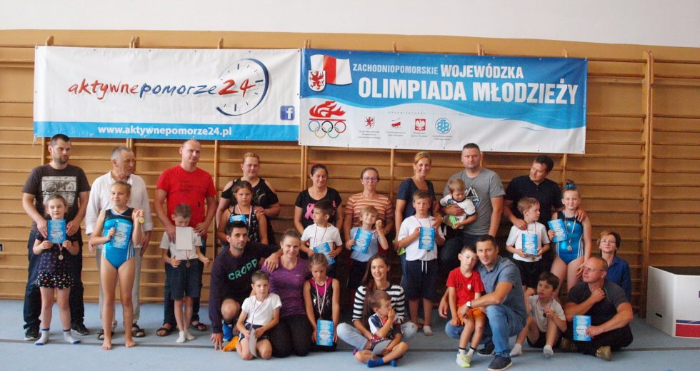 Wojewódzka Olimpiada Młodzieży w skokach akrobatycznych na ścieżce i trampolinie