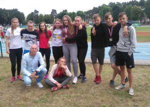 Trzy medale barwickich gimnazjalistów w Finale Wojewódzkim w lekkiej atletyce