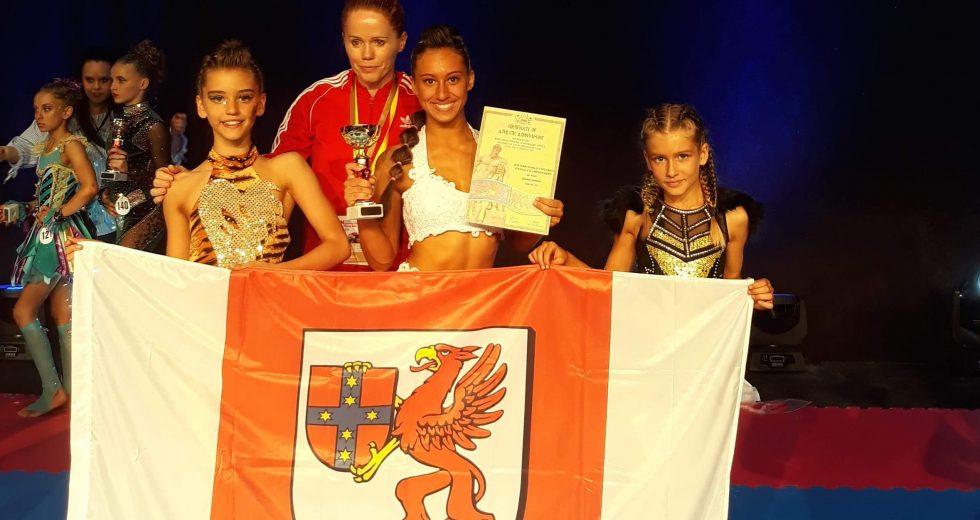 Sukcesy akrobatek na Mistrzostwach Świata w Fitness Dzieci