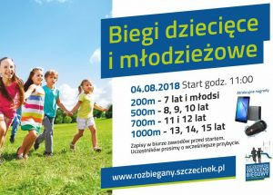 W ramach Szczecineckiego Weekendu Biegowego będą mogły rywalizować także dzieci i młodzież