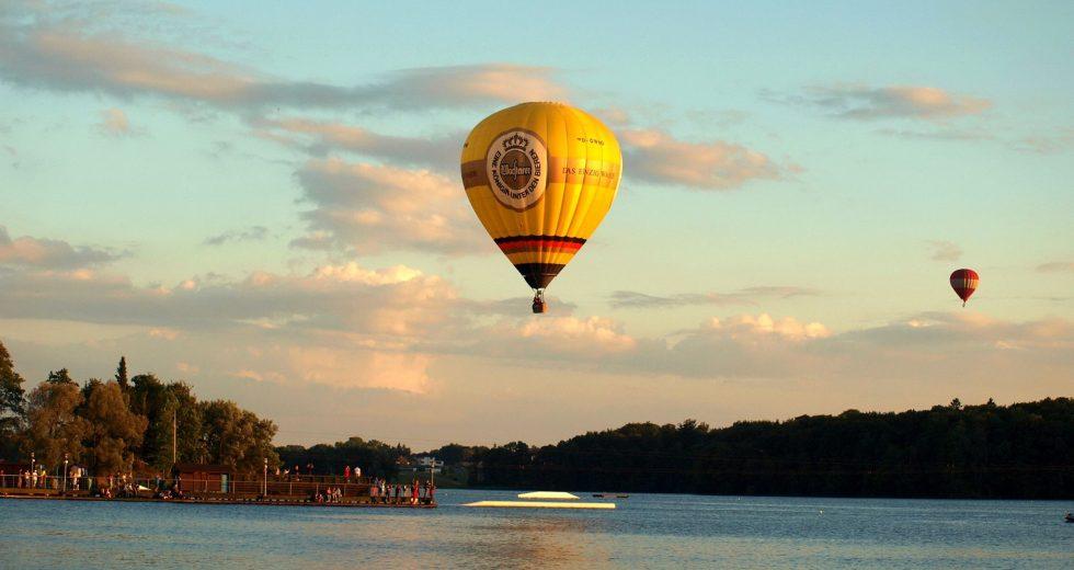 Niesamowite widoki na niebie. Największy w Polsce festiwal balonowy po raz kolejny odbył się w Szczecinku.