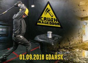 Zaproszenie do Gdańska na bieg zniszczenia – CRUSHMAGEDDON 2018