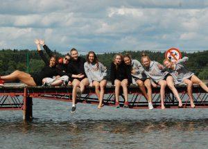 Zawodniczki GROMu Turowo trenowały na obozie sportowym