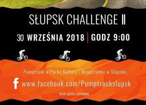 Zaproszenie na PUMPTRACK SŁUPSK CHALLENGE II (rower, hulajnoga)