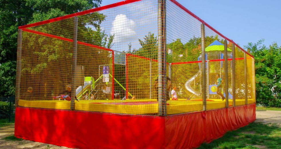 Dzieci mogą już korzystać z Centralnego Placu Zabaw w Szczecinku