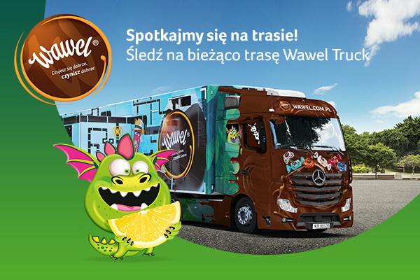 Słodka, interaktywna ciężarówka odwiedzi Szczecinek 4 i 5 października